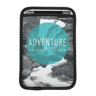 Luva iPad Mini A aventura dos rios   está para fora lá citações