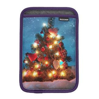 Luva iPad Mini Árvore de Natal - decorações do Natal - flocos de