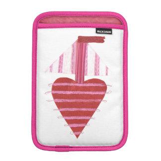 Luva iPad Mini Caixa da Eu-Almofada do barco de Loveheart mini