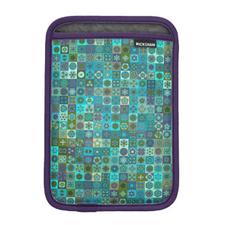 Luva iPad Mini Design floral do teste padrão do abstrato da