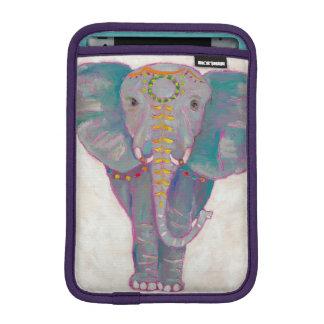 Luva iPad Mini Elefante asiático do zen