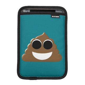 Luva iPad Mini Emoji engraçado Poo