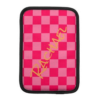 Luva iPad Mini HAMbWG - caixa do computador - verificador do rosa