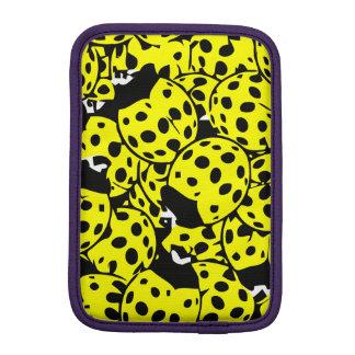 Luva iPad Mini Joaninha amarelo