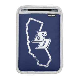 Luva iPad Mini Logotipo do estado de Califórnia do vintage de USD