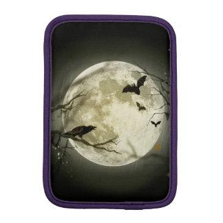 Luva iPad Mini Lua do Dia das Bruxas - ilustração da Lua cheia