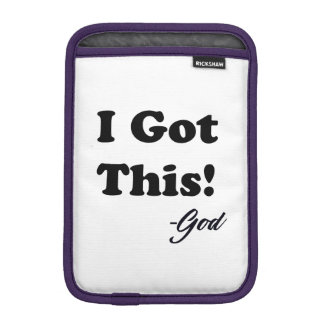 Luva iPad Mini Mensagem do deus