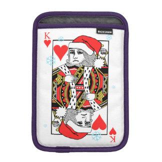 Luva iPad Mini Rei do Feliz Natal dos corações