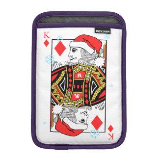 Luva iPad Mini Rei do Feliz Natal dos diamantes