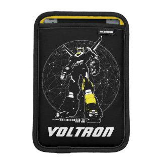 Luva iPad Mini Silhueta de Voltron | sobre o mapa