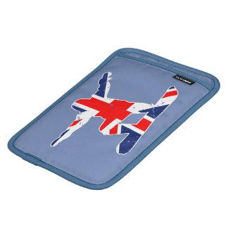 Luva iPad Mini SNOWBOARDER de Union Jack (branco)