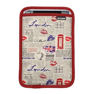 Luva iPad Mini Teste padrão do jornal de Londres