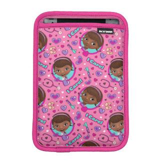 Luva iPad Mini Teste padrão do rosa do cuidado do Doc McStuffins