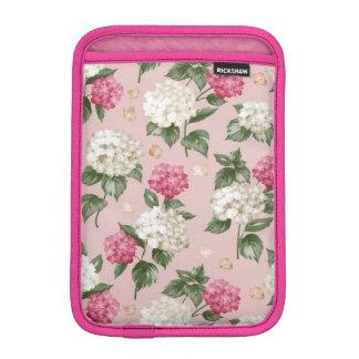 Luva iPad Mini Teste padrão sem emenda floral do Hydrangea