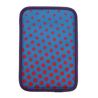 Luva iPad Mini Tiragem e teste padrão repetido dos pontos