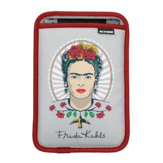 Luva iPad Mini Vintage de Frida Kahlo | floral