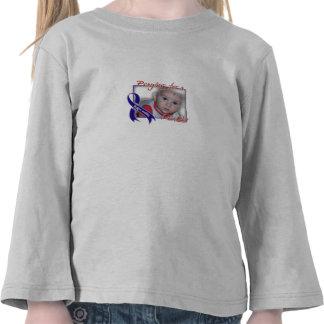 Luva longa da criança t-shirts