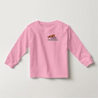 Luva longa da criança t-shirt