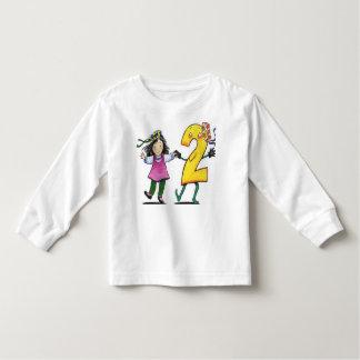 Luva longa da criança tshirts