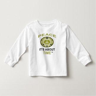 Luva longa da criança do PULSO DE DISPARO do SÍMBO Camisetas