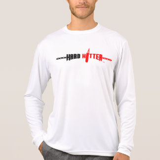 Luva longa da Micro-Fibra dura do logotipo do Camiseta