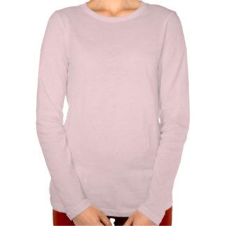luva longa do amor-próprio supremo das mulheres tshirt