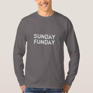 Luva longa do grupo de domingo Funday Camiseta