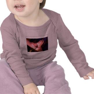 Luva longa infantil das irmãs camiseta