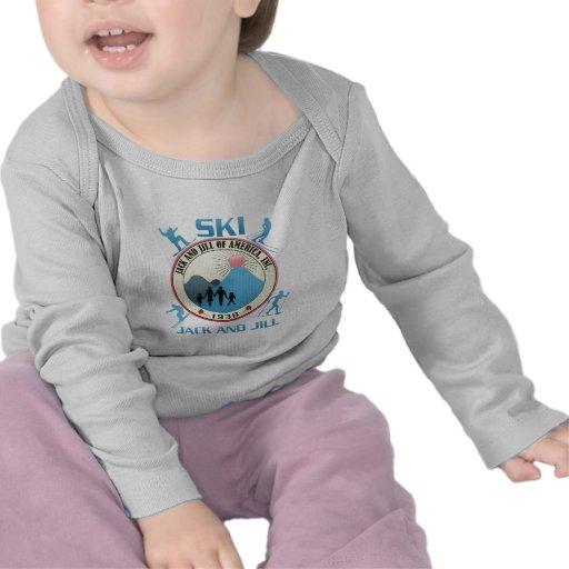 Luva longa infantil tshirt