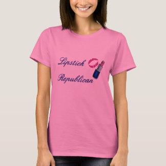Luva longa T da camisa das mulheres republicanas