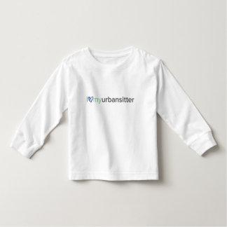 Luva longa T da criança de UrbanSitter Camiseta Infantil