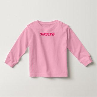 """luva longa T da """"doçura"""" Camisetas"""