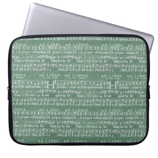 """Luva medieval 15"""" do neopreno do manuscrito da bolsas e capas de notebook"""