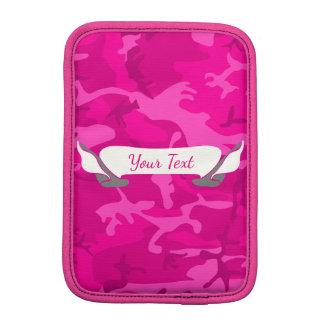 Luva Para iPad Mini Camo cor-de-rosa