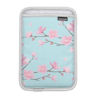 Luva Para iPad Mini Flor de cerejeira - azul-céu
