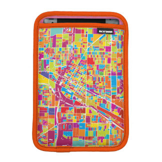 Luva Para iPad Mini Mapa de Las Vegas colorido, Nevada