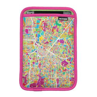 Luva Para iPad Mini Mapa de néon de Houston, Texas  
