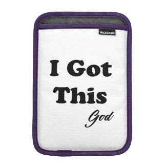 Luva Para iPad Mini Mensagem do deus