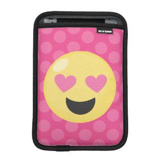 Luva Para iPad Mini O coração Eyes bolinhas de Emoji