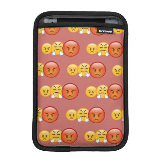 Luva Para iPad Mini Teste padrão louco/irritado de Emoji