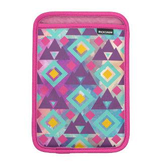 Luva Para iPad Mini Teste padrão vibrante colorido do batik do boho da