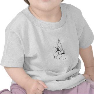 Luvas de encaixotamento 5 t-shirt