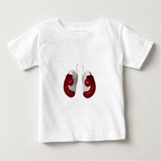 Luvas de encaixotamento camiseta