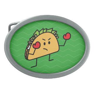 Luvas do escudo da tortilha do pugilista do