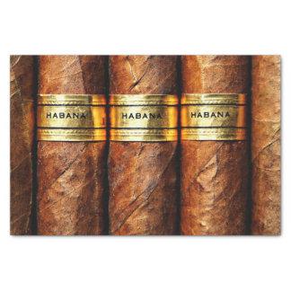 Luxo cubano do fumo do clube dos charutos de papel de seda