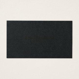 Luxo preto elegante do ouro do design profissional cartão de visitas