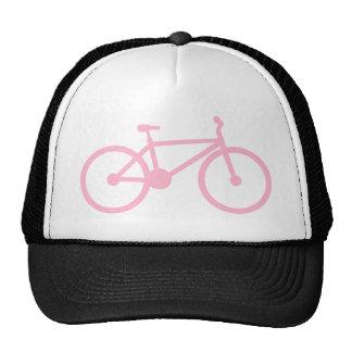 Luz - bicicleta cor-de-rosa boné