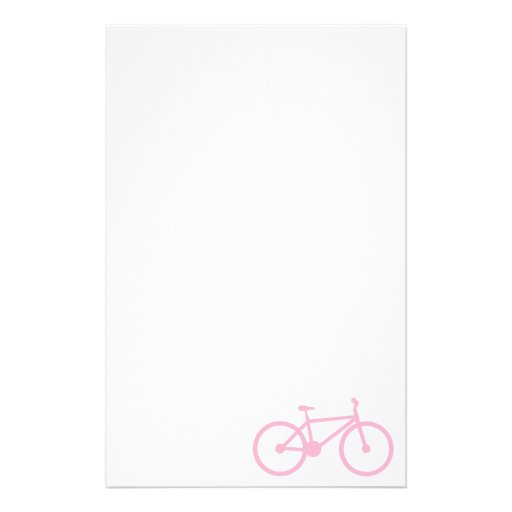 Luz - bicicleta cor-de-rosa papelaria