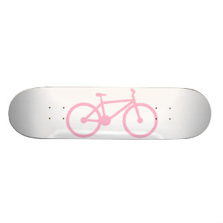 Luz - bicicleta cor-de-rosa skates personalizados