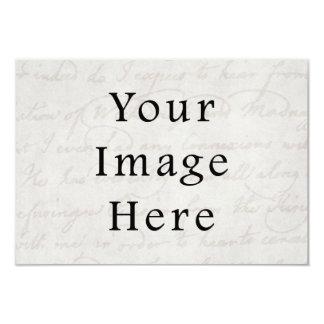 Luz branca do vintage - pergaminho cinzento do convite